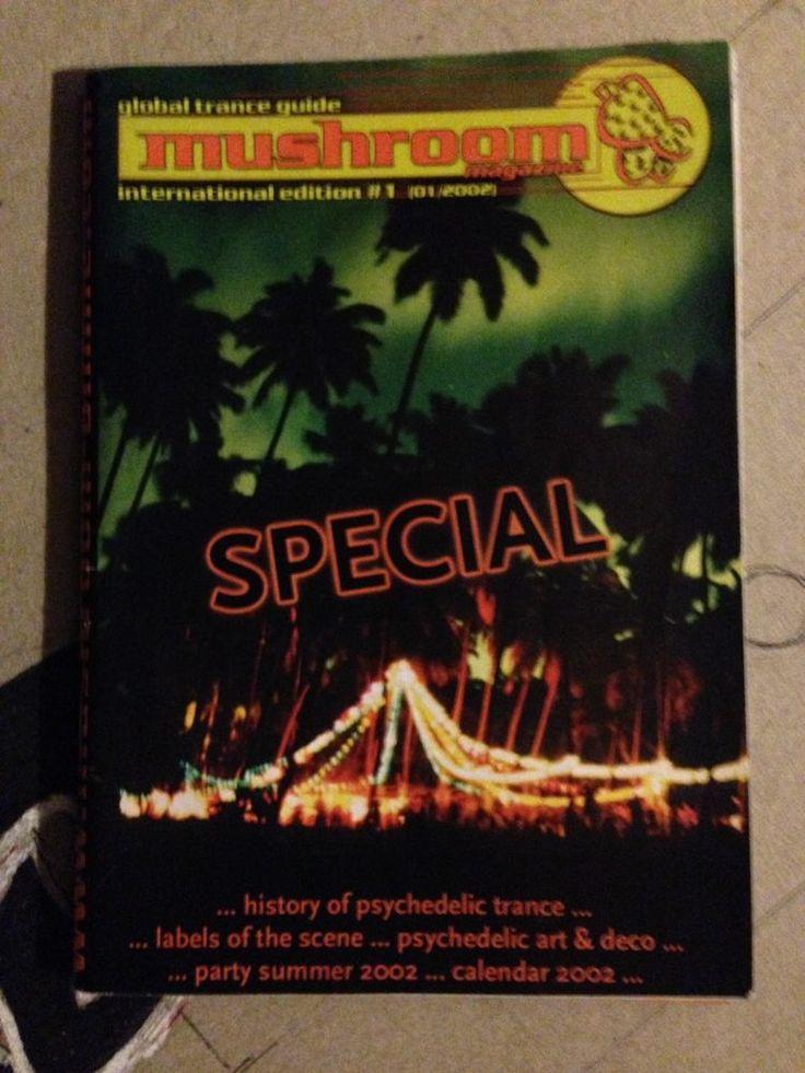 MUSHROOM MAGAZINE - International Edition No:1 - 2002. GLOBAL PSY/TRANCE GUIDE.  | eBay