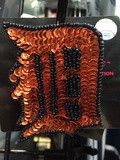 MLB Detroit Tigers Grace Collection Sequins and Bead Hair Clip