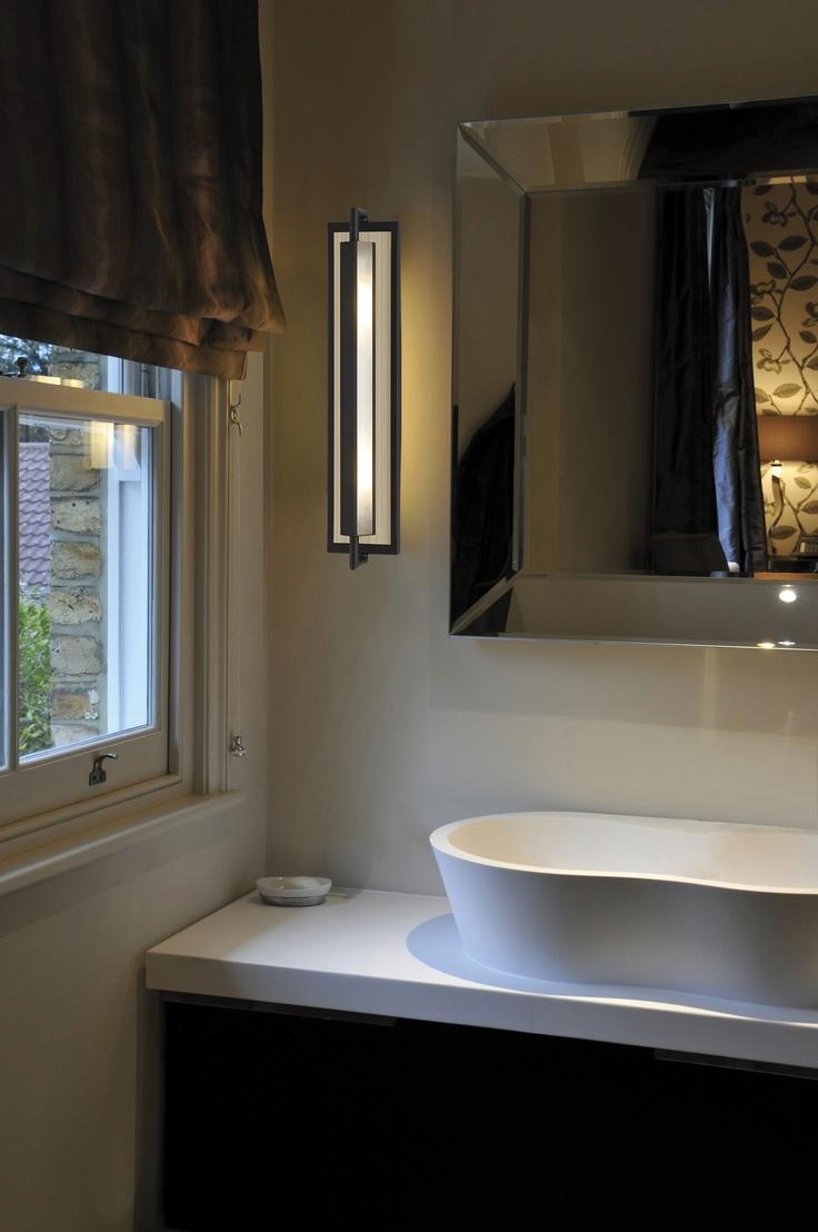Feiss Mila 2 Light Sconce Feiss Lighting Bathroom