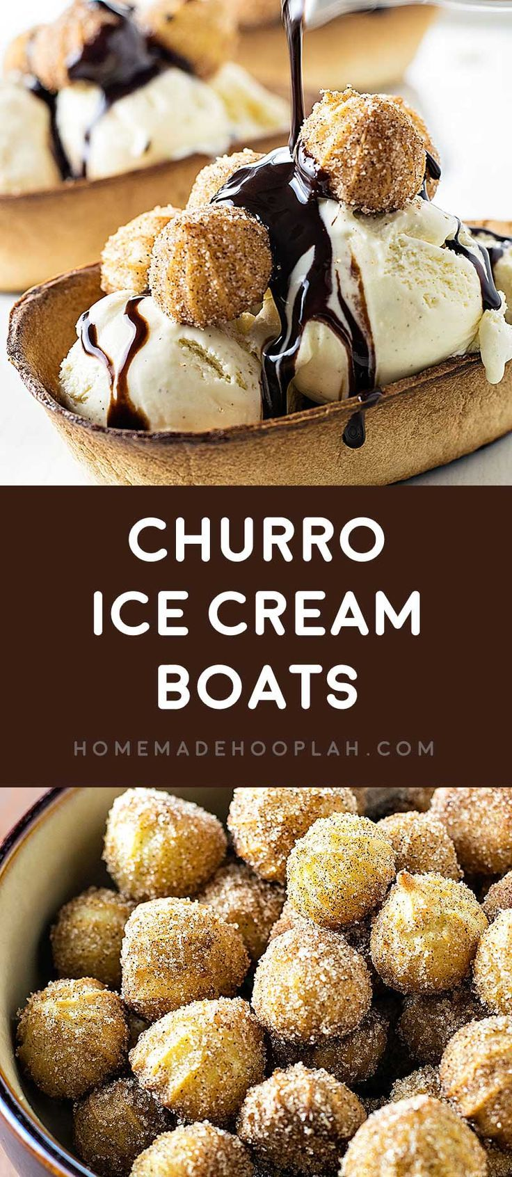 Churro Ice Cream Boats Sweeten Up Your Next Party With Cinnamon Tortilla Boats Filled With