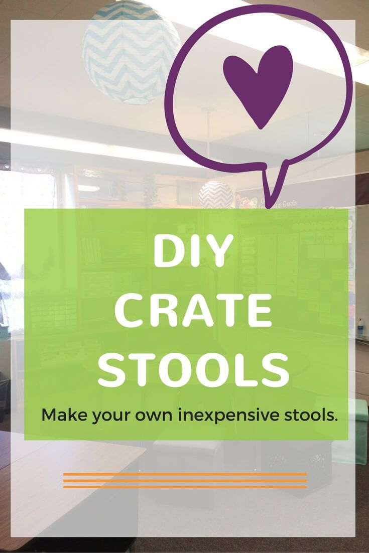 Crate Stools Dairy crate stools (or even non-dairy) are all the rage right now! You can purchase them from any of the major vendors like Target &…