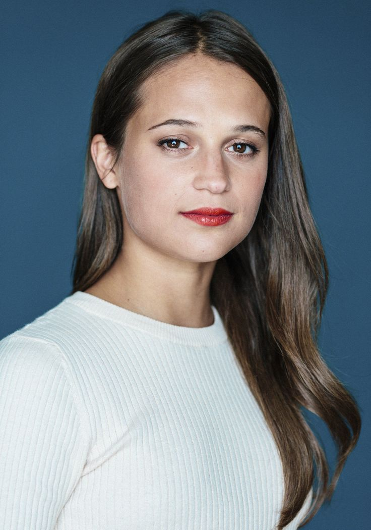 Name: Alicia Vikander, Profession: Actress, Nationality: Sweden, Ethnicity: Caucasian, Birthplace: Gothenburg, D.O.B: October 3, 1988, Height: 5 feet and 5 inches, Weight: 57 kgs, Measurements: 34A-24-34, Enhanced Hooters: No