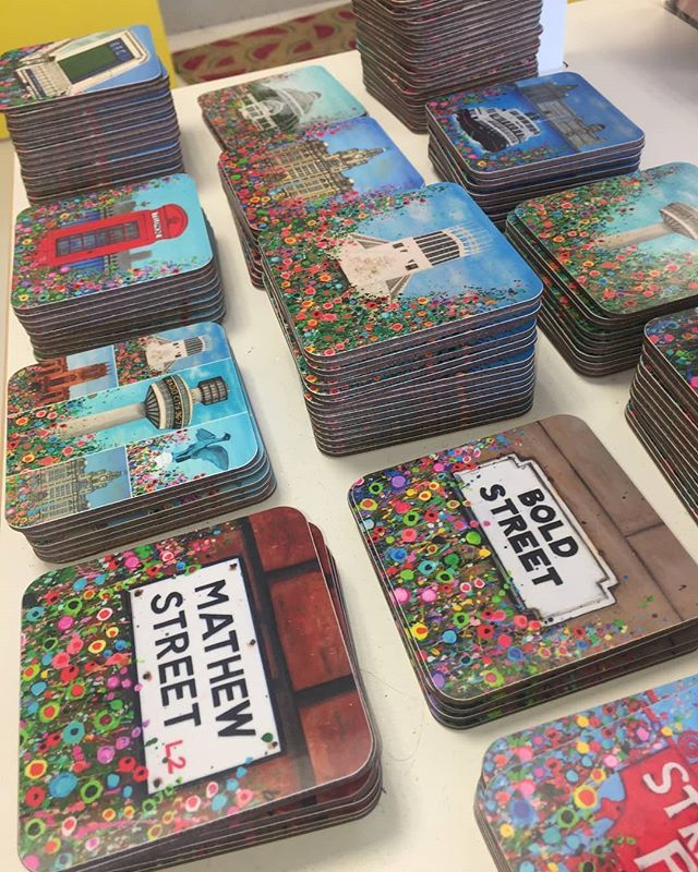 Liverpool coasters are simply gorgeous  . We have them all in stock now in store and online at www.thesassybird.com