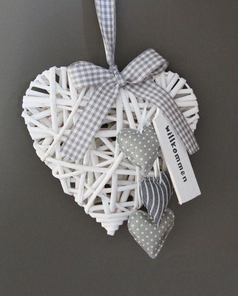 Weidenherz+~+Collection+White+&+Grey+~++von+Euli+&+Co+auf+DaWanda.com
