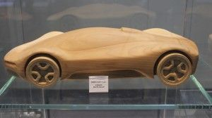 Pininfarina Sintesi Wooden model