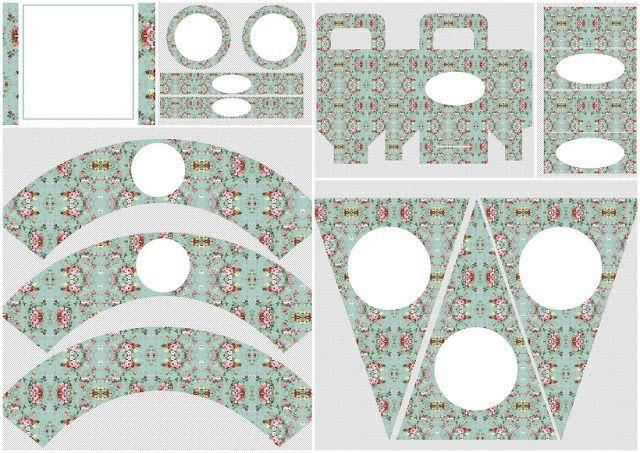 Shabby Chic Vintage: Free Printable Kit.