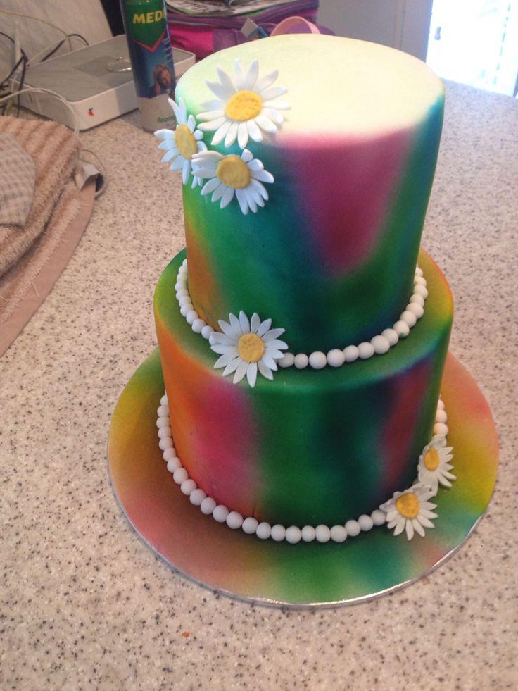 Daughters 2nd birthday cake .