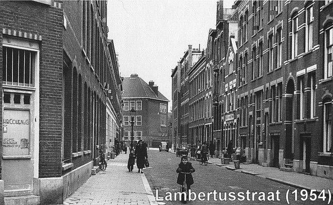 Rotterdam Kralingen - Lambertusstraat. . 1954
