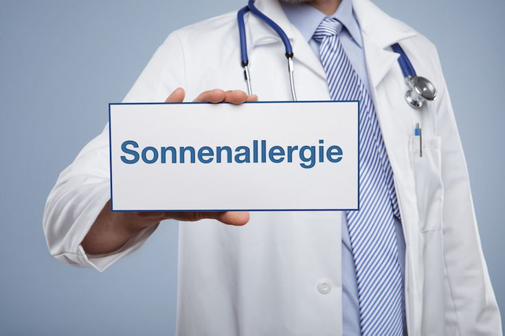Behandlung einer Sonnenallergie - https://www.gesundheits-magazin.net/114289-behandlung-einer-sonnenallergie.html