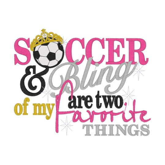soccer moms sayings and photos | Sayings (2286) Soccer & Bling 5x7