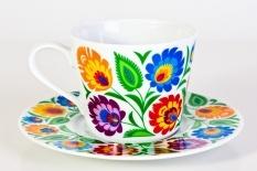 Folk style cup