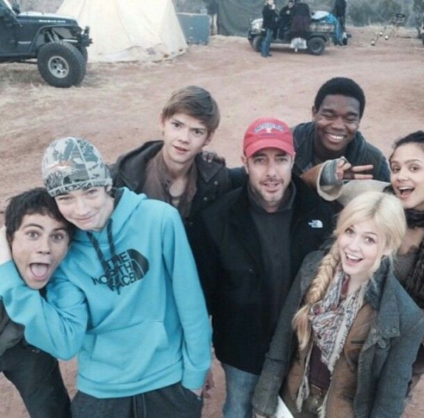 I CANT WAIT FOR SCORCH TRIALS!!! Dylan's face in that picture! It's hilarious!! XD