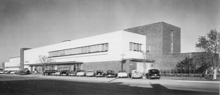 Neiman Marcus - Preston Center, Dallas, TX (1951-1965, SF: 65,000).  Replaced by the NorthPark store in 1965.