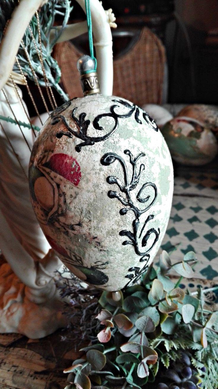 Jajko z reliefkami :)