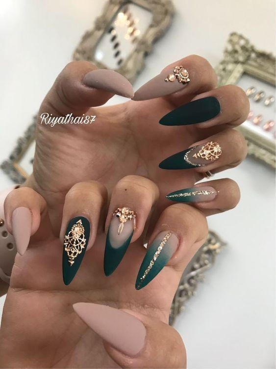 grüne Nägel grüne Nagellack Designs, die Sie lieben werden#designs #die #grüne #lieben #nägel #nagellack #sie #werden