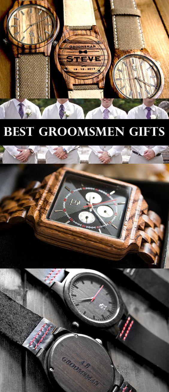 Personalizedengraved Wooden Watches Perfect Gifts Ideas For