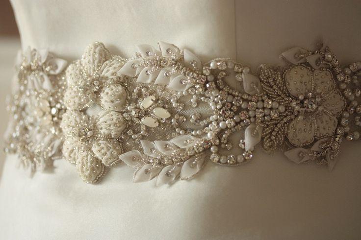Millie ICARO Heirloom Wedding dress Sash Belt - PARIS ROMANCE