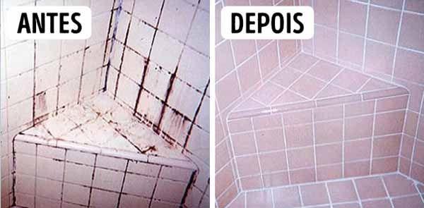Receita simples que possa facilitar a limpeza da sua cozinha e da sua casa. Truque Para Limpar Rejunte, Azulejo e Sanitário.