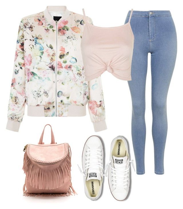 """""""Set #001"""" by girlbehindthebluedoor1590 on Polyvore featuring Topshop, New Look and Converse"""