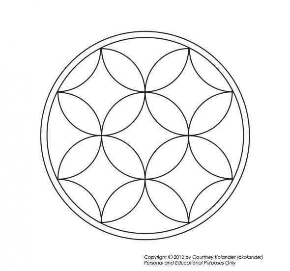 96 Best Images About Coloring Mandalas On Pinterest