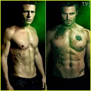 Arrow colton haynes and stephen amell hot guys that for Bratva arrow tattoo