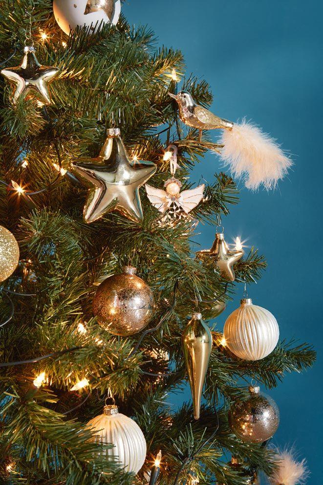 #kerstbal #koper #kerstboom #versiering #decoratie #blokker