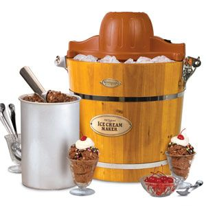 nostalgia icmw400 vintage collection old fashioned ice cream maker