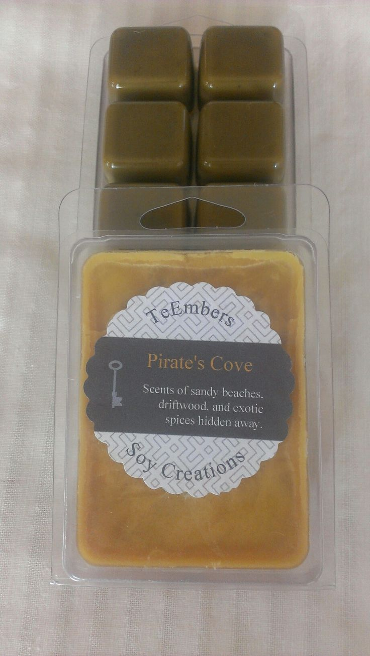 Pirate's Cove Scented Soy Melting Tarts