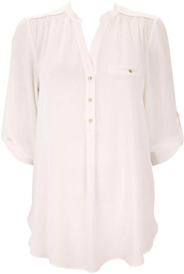 Wallis White Shirt on shopstyle.co.uk