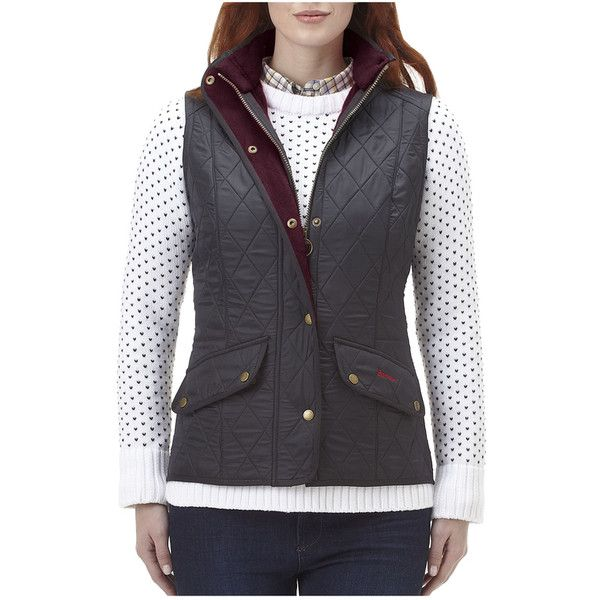 Barbour Cavalry Quilted Gilet ($179) ❤ liked on Polyvore featuring outerwear, vests, navy, vest waistcoat, navy blue quilted vest, navy vest, barbour gilet and barbour vest