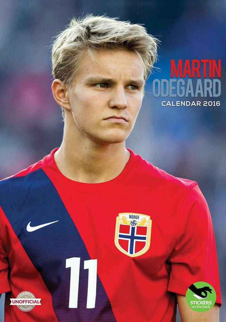 Martin Odegaard A3 Calendar 2016