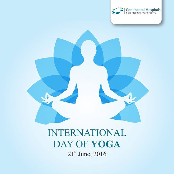 Continental Hospital Wishing you all Happy International Yoga Day!!! Stay fit and Stay healthy. #Yogaday #InternationalYogaday