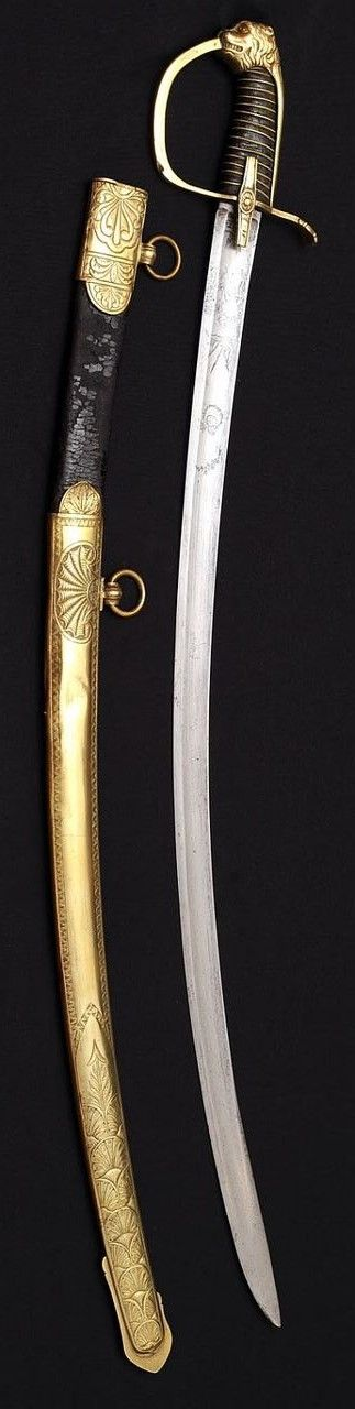 """""""Directoire"""" Hussar Officer Sword.      Dated: circa 1795-1800.     Culture: French."""