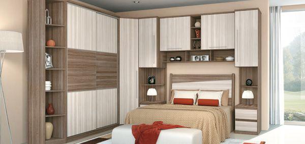 Quarto de casal planejado imagem de um quarto planejado de casal pequeno
