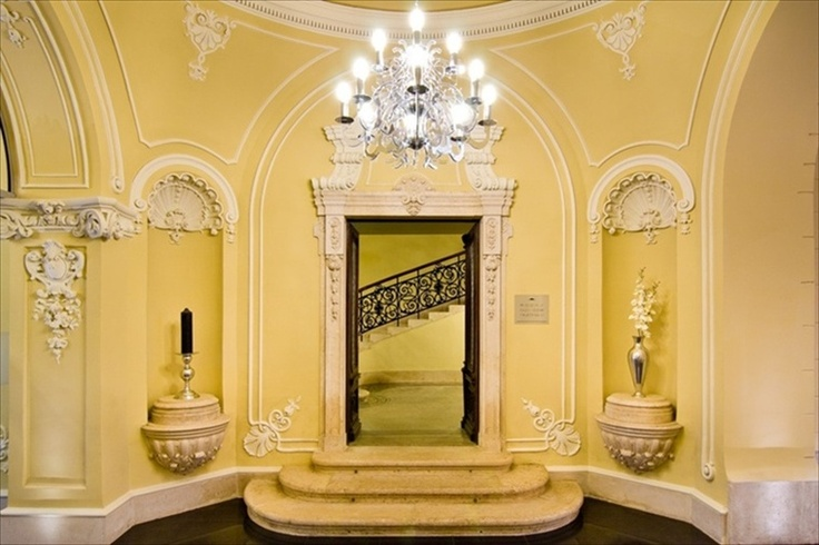 Palazzo Zichy, Budapest...The door of the main staircase