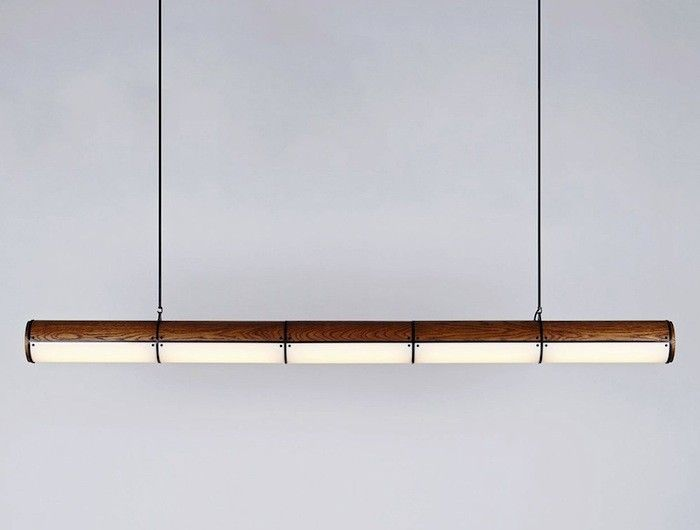 Woody Endless LED Pendant by Jason Miller I Remodelista