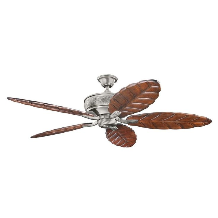 "Burnished Antique Ceiling Fan 70"" Antique Pewter Home Decor LightingBedroom  #KichlerLighting"