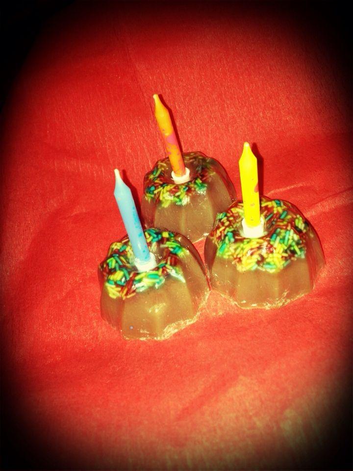 Birthday soaps