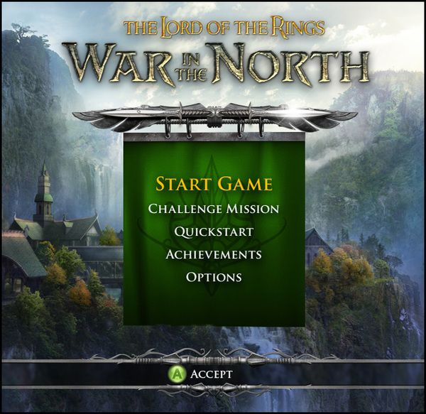 The Lord of the Rings - War in the North Game UI by Shane Mielke, via Behance