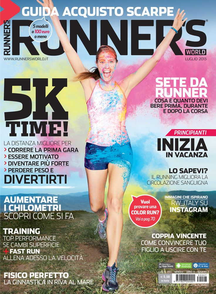Runner's World Italia, Anno 8, Numero 7, Luglio 2013 - www.runnersworld.it