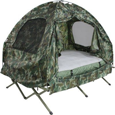 Deluxe 4 In 1 Compact Folding Dome Shelter Tent With