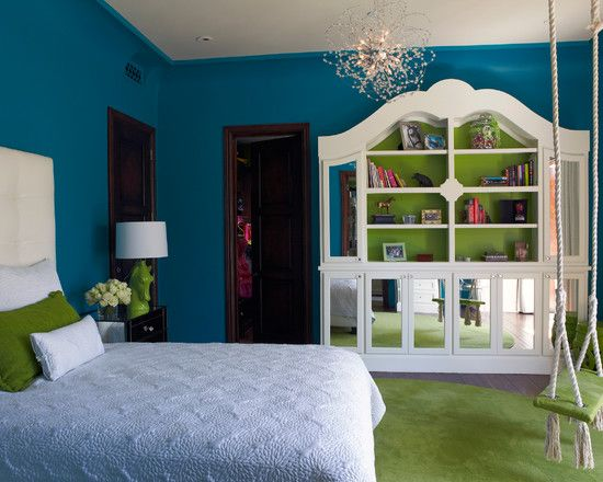 Bedroom Turquoise And Black Girls Bedroom Design, Pictures, Remodel, Decor and Ideas - page 21