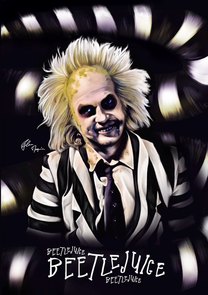 Beetlejuice poster by Flore Maquin | Movie Poster ...