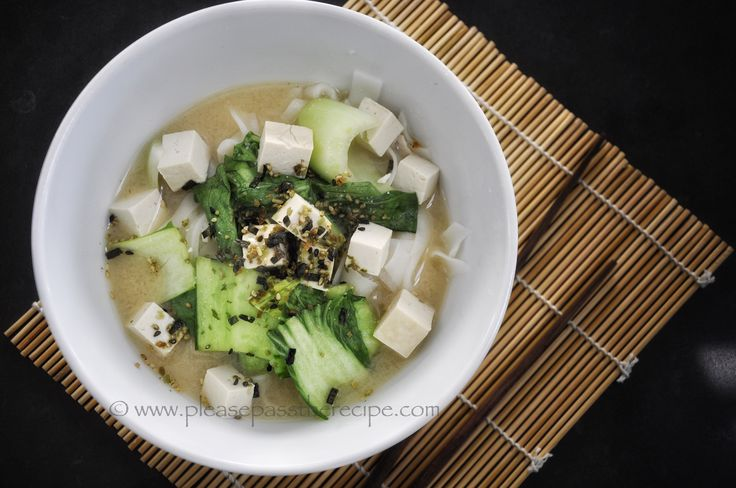 Main meal miso soup | Please Pass the Recipe
