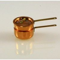 Copper Double Boiler - Small