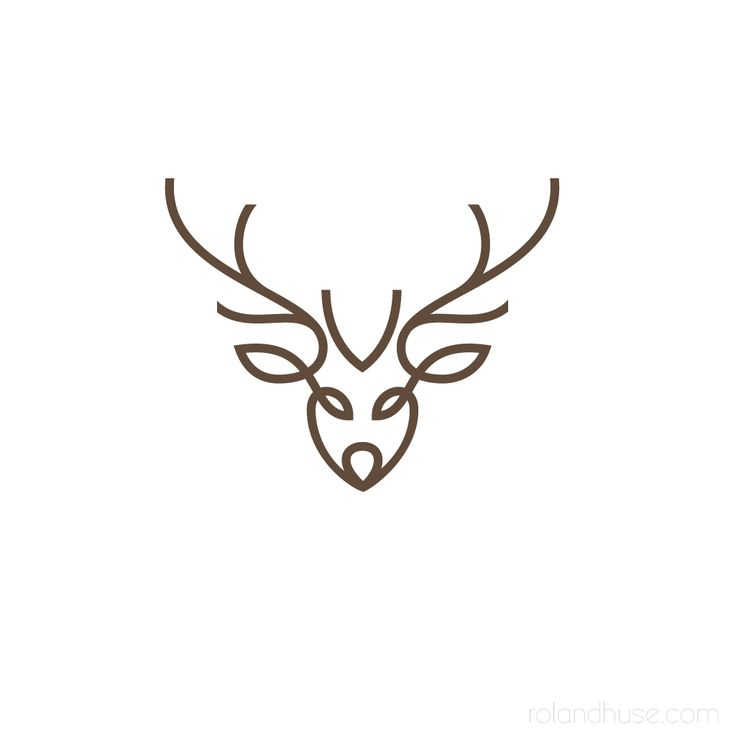 Логотипы оленя картинки
