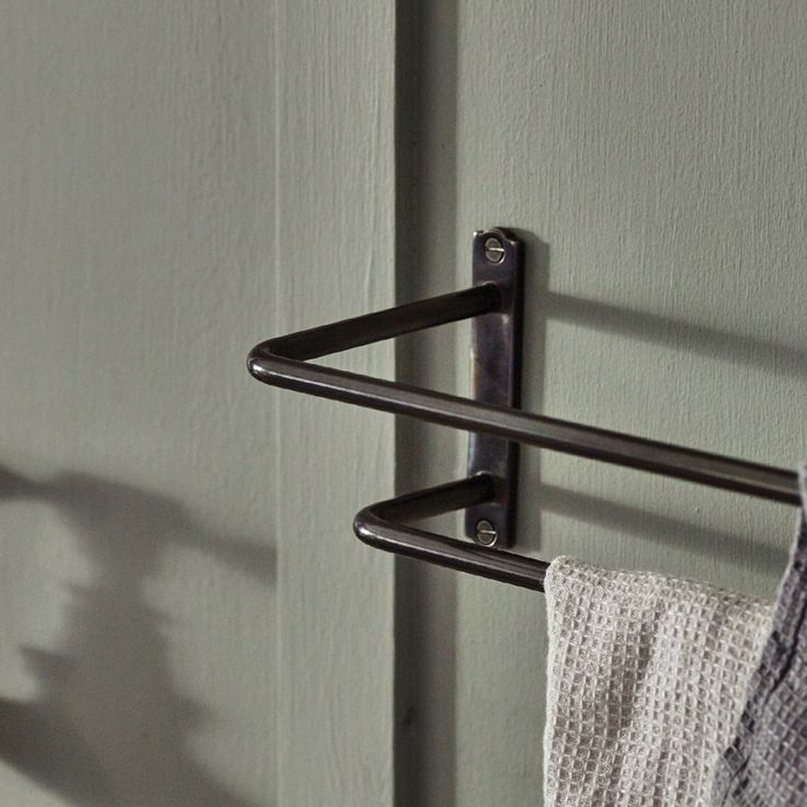 Bilton Double Towel Rail