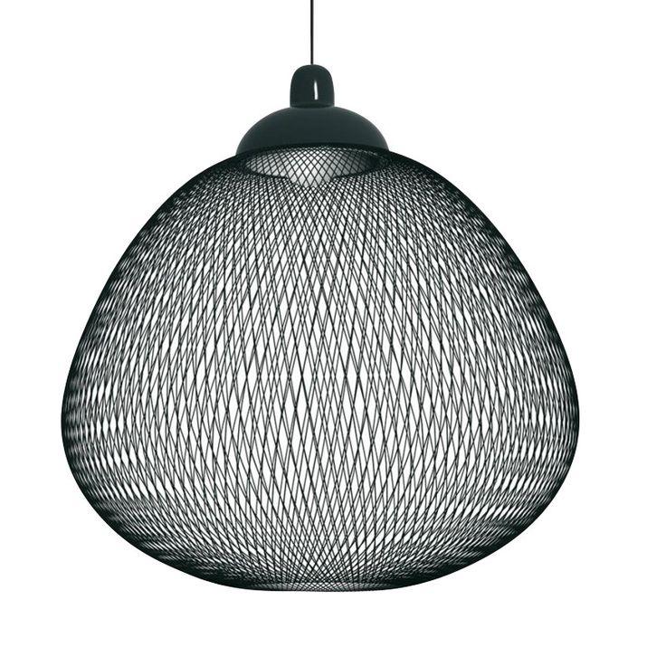 Moooi - Non Random Light Suspension Lamp - black/fibreglass/Ø 71cm