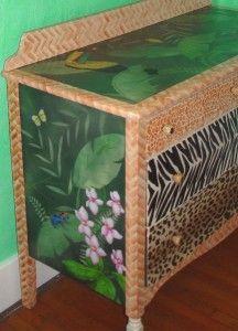 Tropical Rainforest Dresser by @Tammi Nepia Latham