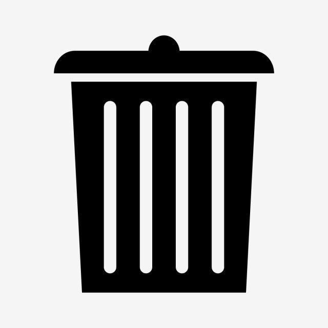 Garbage Icon Sign Design Icon Location Icon